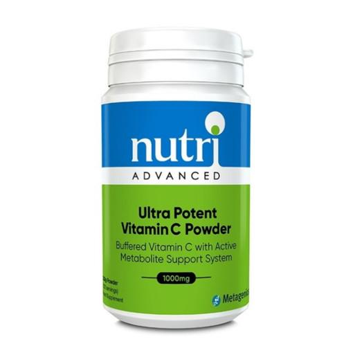 Nutri Advanced Ultra Potent-C Powder - 232g (Approx. 122 Servings)