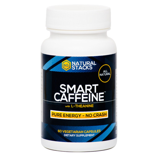 Natural Stacks Smart Caffeine - 60 capsules