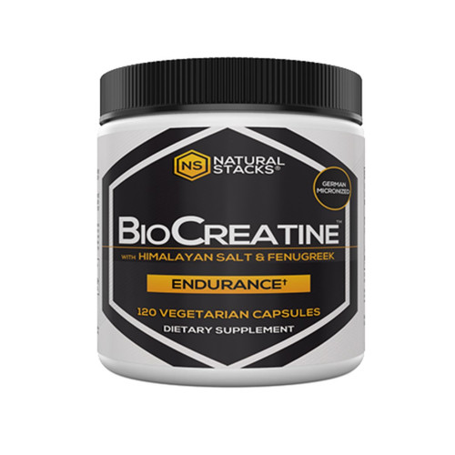 Natural Stacks BioCreatine Optimal Creatine Complex - 120 capsules