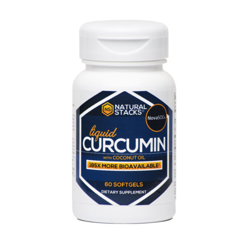 Natural Stacks Curcumin - 60 softgel capsules