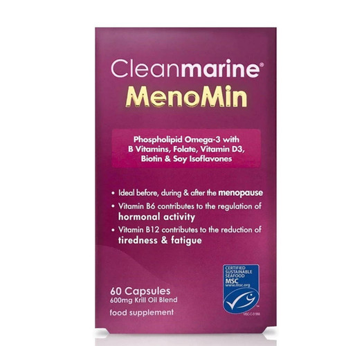 Cleanmarine Omega 3 MenoMin for Women - 60 capsules