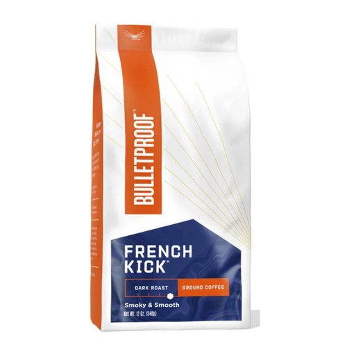 Bulletproof Upgraded French Kick Dark Roast Ground Coffee - 340g (12oz)