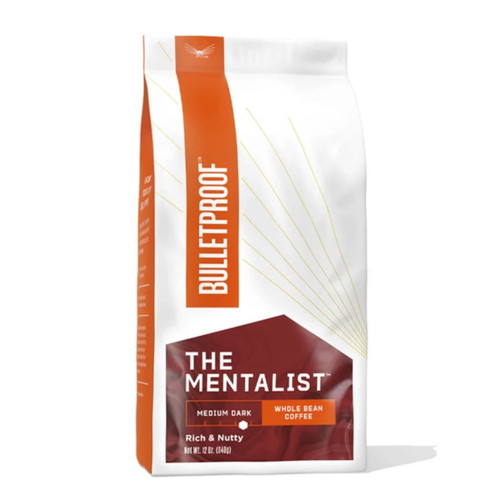 Bulletproof Upgraded The Mentalist Dark Roast Whole Bean Coffee - 340g (12oz)