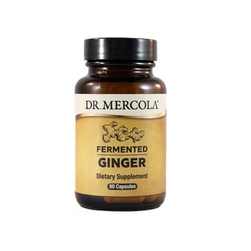 Dr Mercola Fermented Ginger - 60 caps