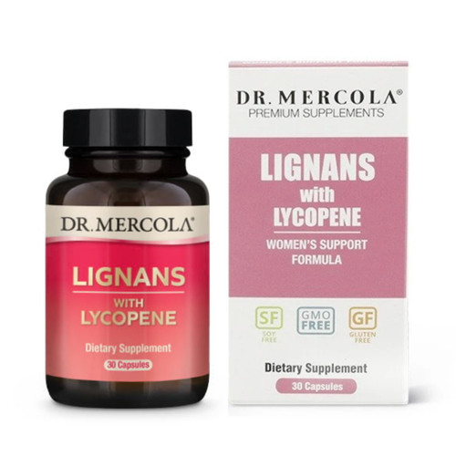 Dr Mercola Lignans with Lycopene - 30 capsules