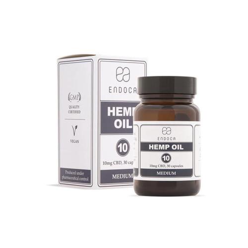 Endoca Hemp Oil 300mg - 30 capsules - Food Supplement