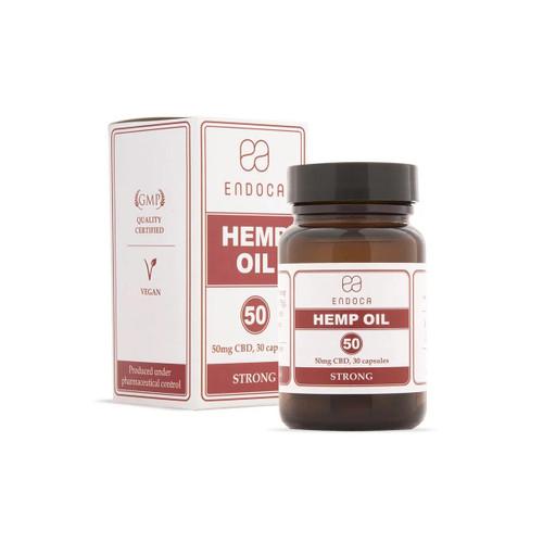 Endoca Hemp Oil 1500mg - 30 capsules - Food Supplement