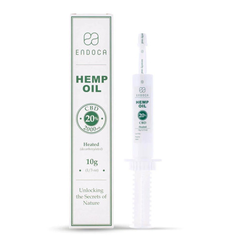 Endoca Hemp Oil 2000mg - 10g - Food Supplement