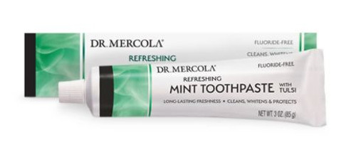 Dr Mercola Toothpaste with Tulsi - Cool Mint 3oz