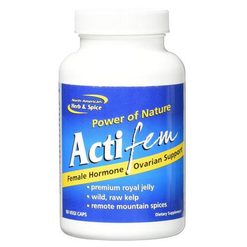 North American Herb & Spice ActiFem - 90 capsules