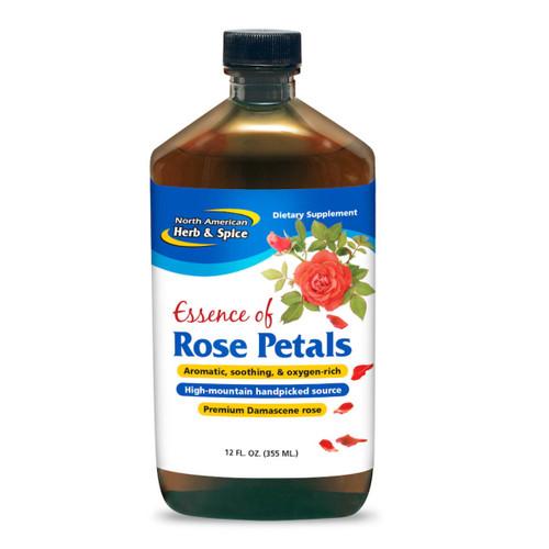 North American Herb & Spice Essense of Pure Rose Petals - 355ml