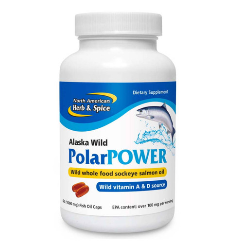 North American Herb & Spice PolarPower 1000mg - 60 capsules