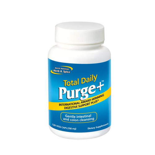 North American Herb & Spice Total Daily Purge Plus - 120 capsules