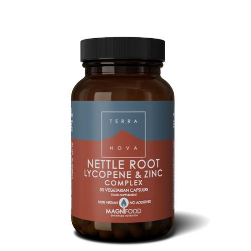 Terranova Nettle Root Lycopene & Zinc Complex (Prostate Support) - 50 capsules
