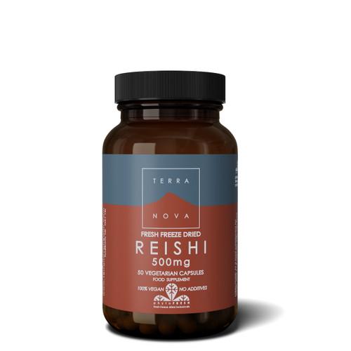 Terranova Reishi 500mg - 50 capsules