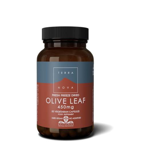 Terranova Olive Leaf 450mg - 50 capsules