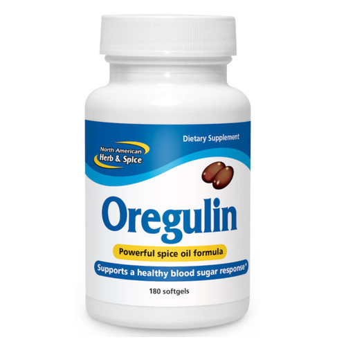 North American Herb & Spice Oregulin (Balance & Support) - 180 softgel capsules
