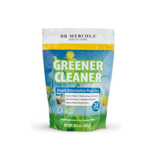 Dr Mercola Greener Cleaner Bleach Alternative Pouches (24)