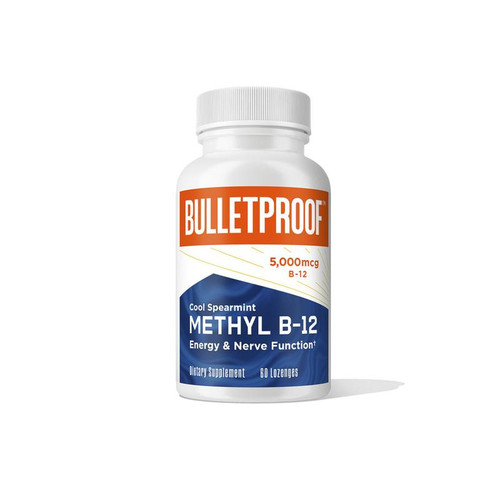 Bulletproof Methyl B-12 (Cool Spearmint) - 60 chewable lozenges