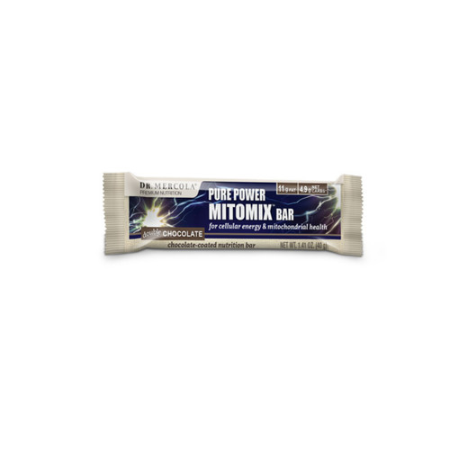 Dr Mercola Pure Power Mitomix Bar Double Chocolate - 40g