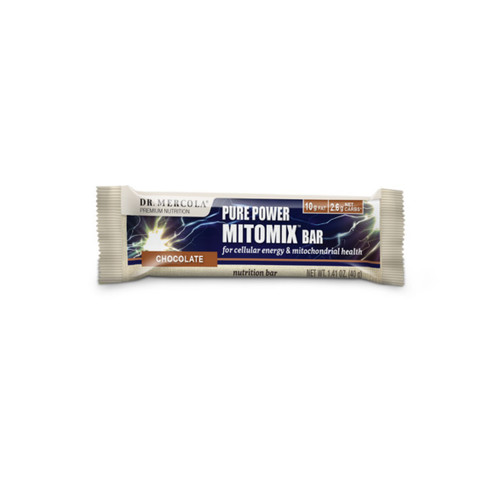 Dr Mercola Pure Power Mitomix Bar Chocolate - 40g