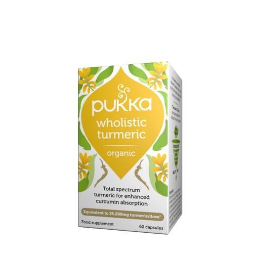 Pukka Organic Wholistic Turmeric - 60 capsules