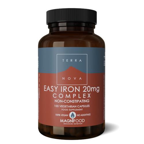 Terranova Easy Iron Complex 20mg - 100 capsules