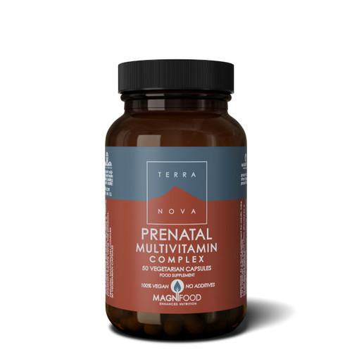 Terranova Prenatal Multivitamin Complex - 50 capsules