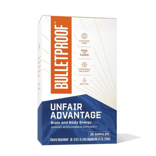 Bulletproof Unfair Advantage - 30 ampules