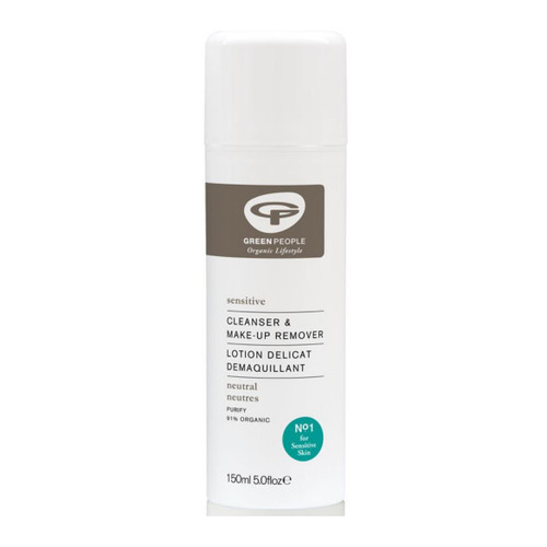 Green People Neutral Scent Free Cleanser & Make Up Remover - 150ml