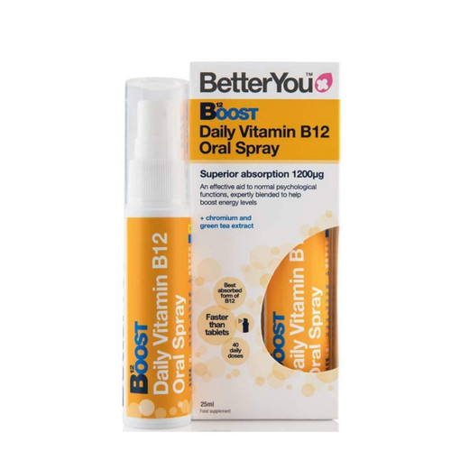 BetterYou B12 Pure Energy Boost Spray - 25ml