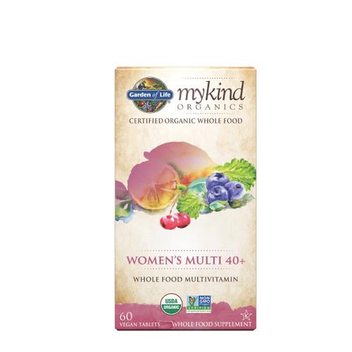 Garden of Life Mykind Organics Women Multivitamin 40+ - 60 tablets