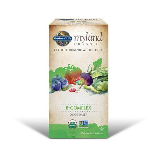 Garden of Life Mykind Organics Vitamin B Complex - 30 tablets