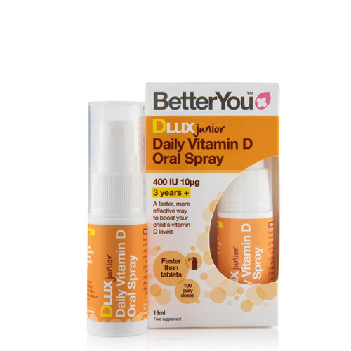 BetterYou DLux Junior Daily D3 Spray - 15ml