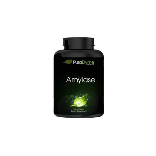 PuraDyme Amylase Individual Enzyme - 180 capsules