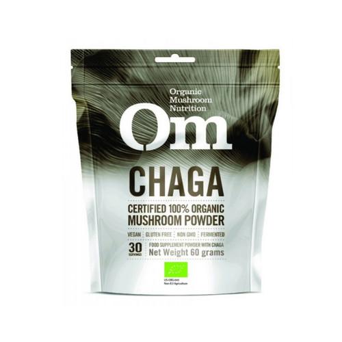 Om Organic Mushroom Nutrition Chaga - 60g