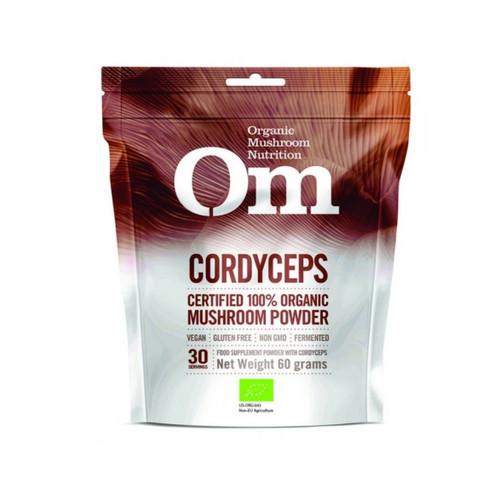 Om Organic Mushroom Nutrition Cordyceps - 60g