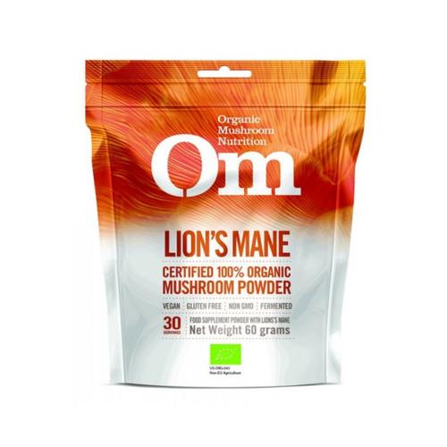 Om Organic Mushroom Nutrition Lion's Mane - 60g