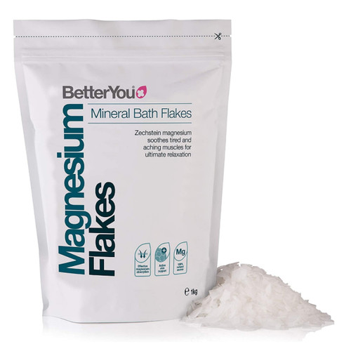 BetterYou Magnesium Flakes (Foot & Body Mineral Soak) - 1Kg