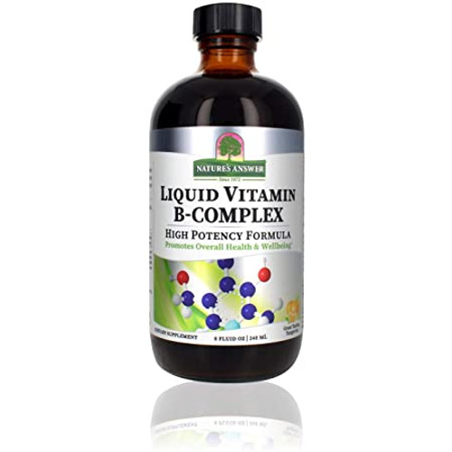 Nature's Answer Liquid Vitamin B-Complex -  240ml