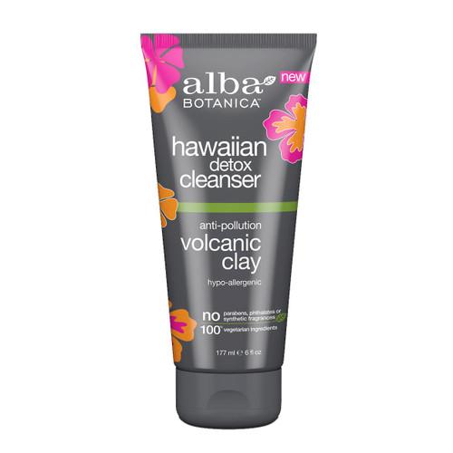 Alba Hawaiian Detox Cleanser Volcanic Clay - 177ml