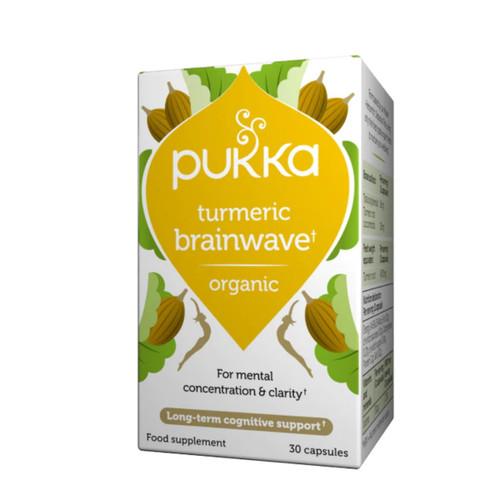 Pukka Turmeric Brainwave - 30 caps