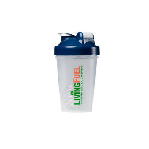 Living Fuel Mini Blender Bottle Navy - 568 ml