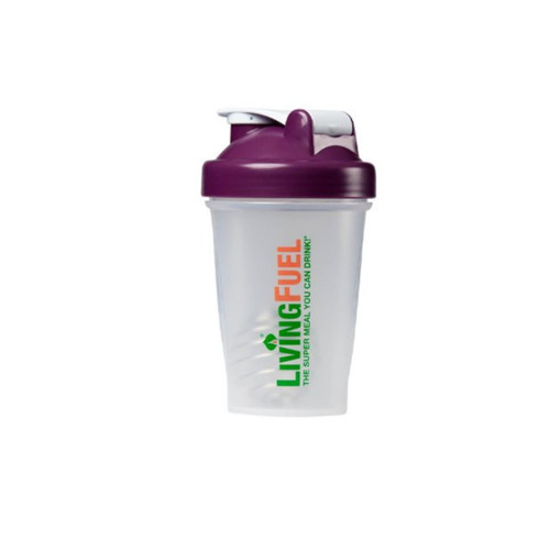 Living Fuel Blender Bottle Plum - 568ml