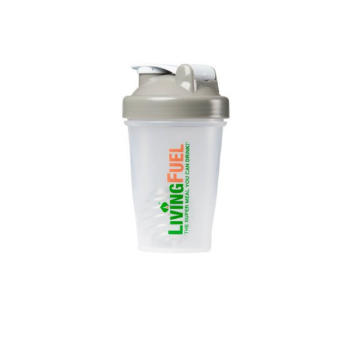 Living Fuel Blender Bottle Pebble Grey - 568ml