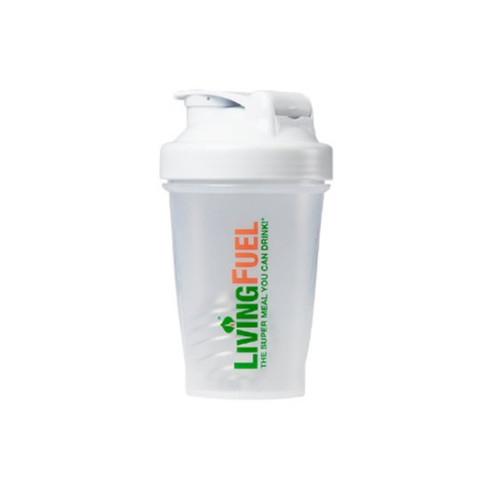 Living Fuel Blender Bottle White - 568ml