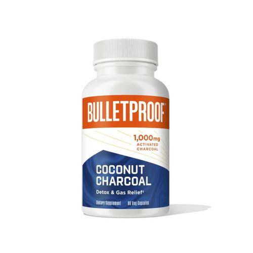 Bulletproof Coconut Charcoal - 90 capsules
