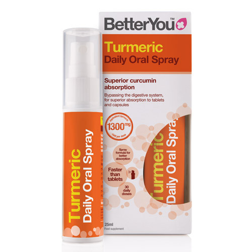BetterYou Turmeric Oral Spray - 25ml