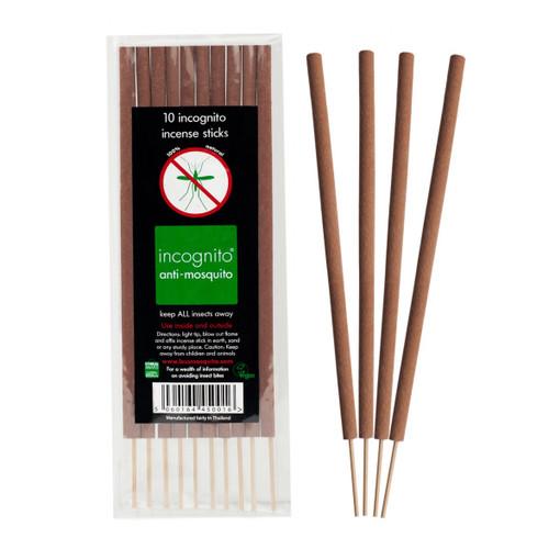Incognito Citronella Incense Sticks - 10 x 52g