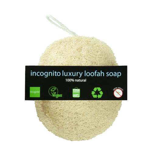 Incognito Luxury Loofah Soap - 55g
